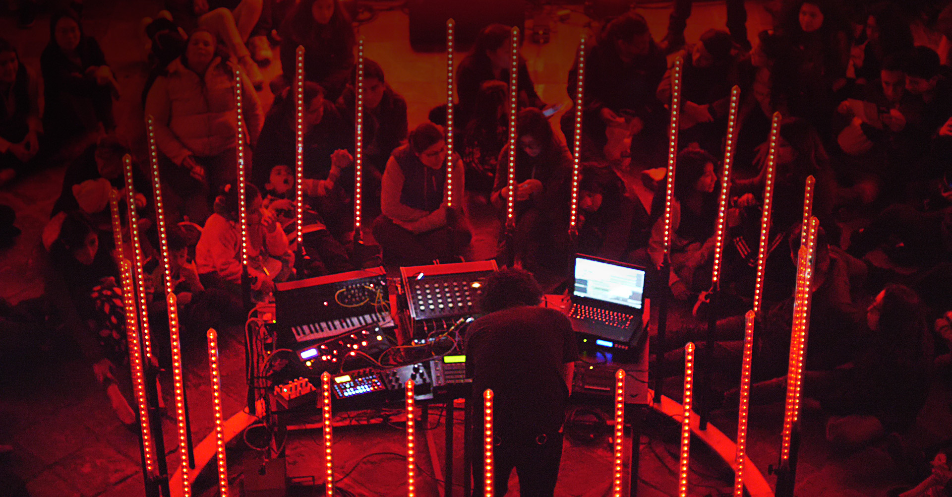 Live at Centro de Arte Contemporáneo de Quito.